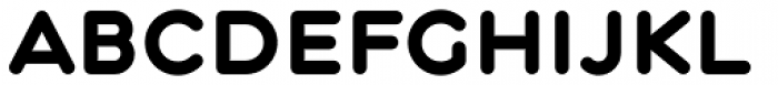 Central Bold Font LOWERCASE