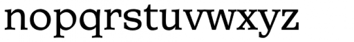 Central Font LOWERCASE