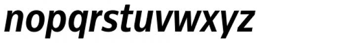 Centrale Sans Cond Pro Bold Italic Font LOWERCASE