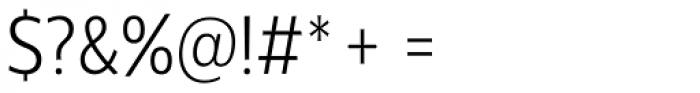 Centrale Sans Condensed Light Font OTHER CHARS
