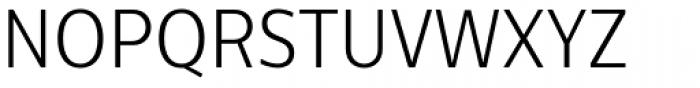 Centrale Sans Condensed Light Font UPPERCASE