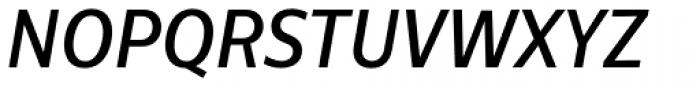 Centrale Sans Condensed Medium Italic Font UPPERCASE