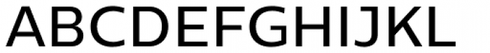 Centrale Sans Medium Font UPPERCASE