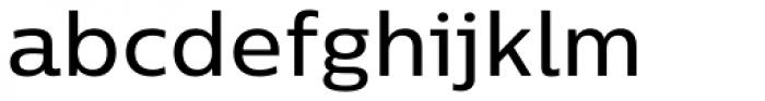 Centrale Sans Medium Font LOWERCASE