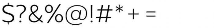 Centrale Sans Pro Light Font OTHER CHARS