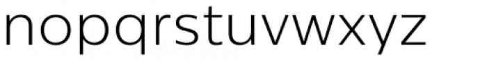 Centrale Sans Pro Light Font LOWERCASE