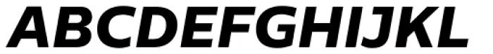 Centrale Sans Pro XBold Italic Font UPPERCASE