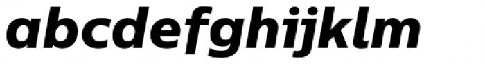 Centrale Sans Pro XBold Italic Font LOWERCASE