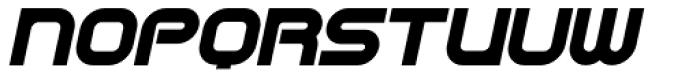 CentreForward Black Italic Font UPPERCASE