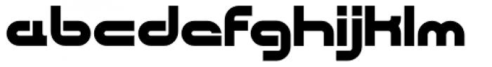 CentreForward Black Font LOWERCASE