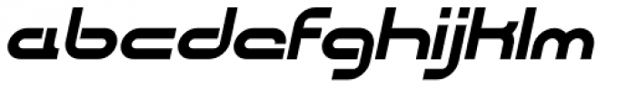 CentreForward Bold Italic Font LOWERCASE