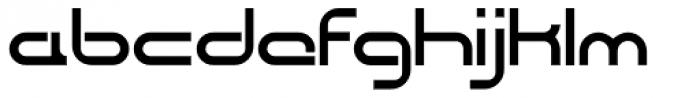 CentreForward Font LOWERCASE