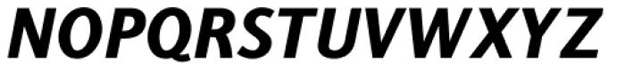 Centuria Negra Italic Font UPPERCASE