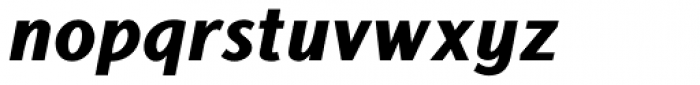 Centuria Negra Italic Font LOWERCASE