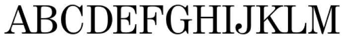 Century 725 Font UPPERCASE