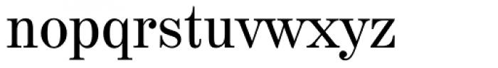 Century 725 Font LOWERCASE
