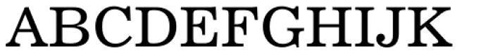 Century 731 Font UPPERCASE