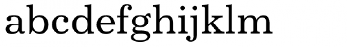 Century 731 Font LOWERCASE