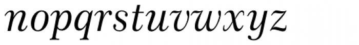 Century 751 Italic Font LOWERCASE