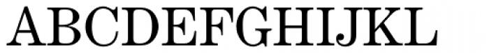 Century Exp EF Regular Font UPPERCASE