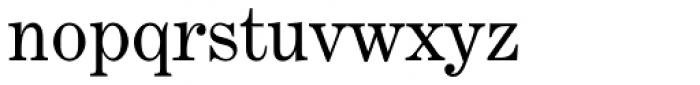 Century Exp EF Regular Font LOWERCASE