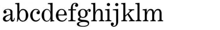 Century Expanded Font LOWERCASE