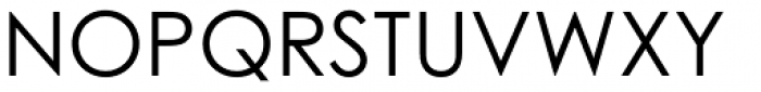 Century Gothic Std Regular Font UPPERCASE