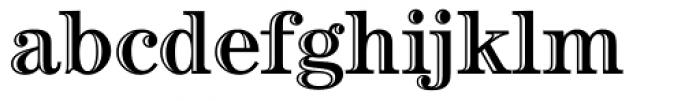 Century Handtooled OS Font LOWERCASE