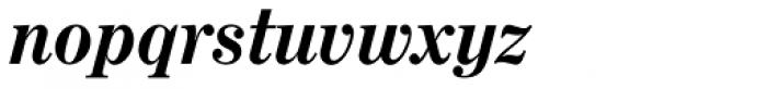 Century No 1 SB Bold Italic Font LOWERCASE