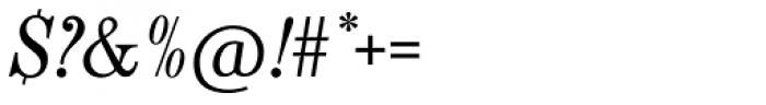 Century Nova SB Italic Font OTHER CHARS