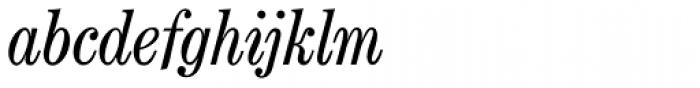 Century Nova SB Italic Font LOWERCASE