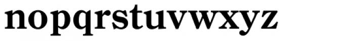 Century Old Style Pro Bold Font LOWERCASE