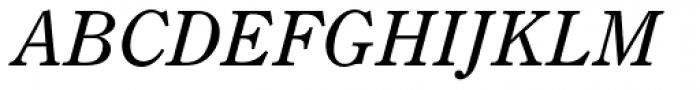 Century Old Style SB Italic Font UPPERCASE