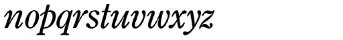 Century Old Style SB Italic Font LOWERCASE