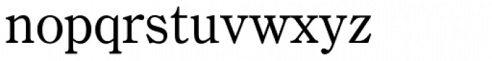 Century Oldstyle Font LOWERCASE