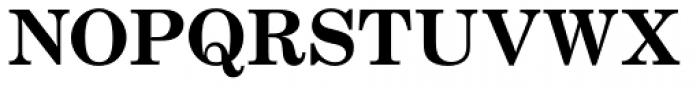 Century School SB Bold Font UPPERCASE