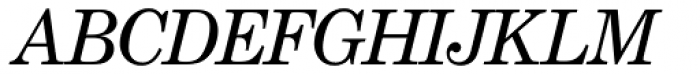 Century School SH Italic Font UPPERCASE