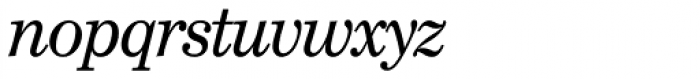 Century School SH Italic Font LOWERCASE
