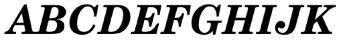 Century Schoolbook DT Bold Italic Font UPPERCASE