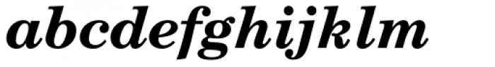 Century Schoolbook DT Bold Italic Font LOWERCASE