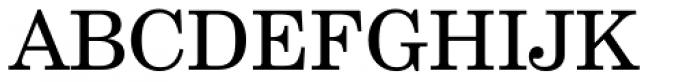 Century Schoolbook DT Regular Font UPPERCASE