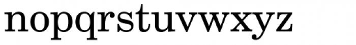 Century Schoolbook DT Regular Font LOWERCASE