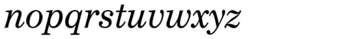 Century Schoolbook EF Italic Font LOWERCASE