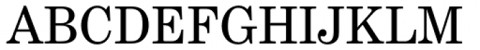 Century Schoolbook EF Regular Font UPPERCASE