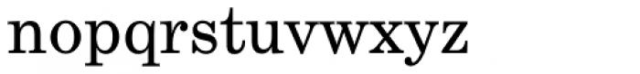Century Schoolbook EF Regular Font LOWERCASE