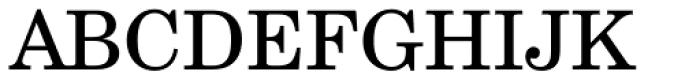 Century Schoolbook L Roman Font UPPERCASE