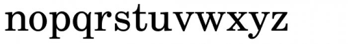 Century Schoolbook L Roman Font LOWERCASE