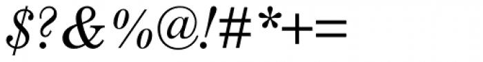 Century Schoolbook Pro Cyrillic Italic Font OTHER CHARS