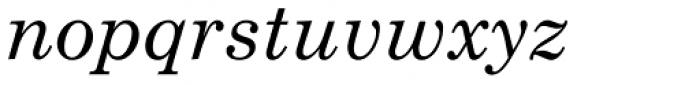 Century Schoolbook Pro Cyrillic Italic Font LOWERCASE