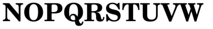 Century Schoolbook WGL4 Bold Font UPPERCASE